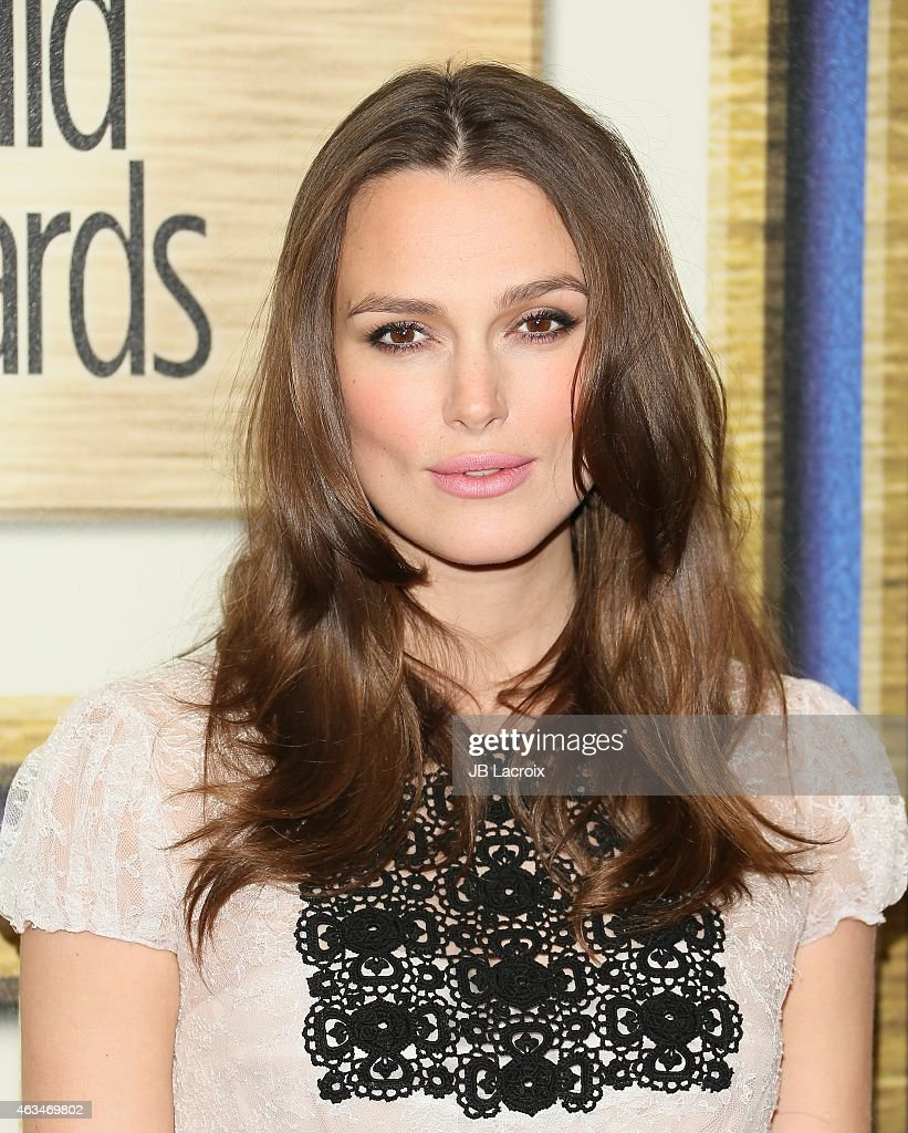 Keira Knightley attends the 2015 Writers Guild Awards L.A. Ceremony at the Hyatt Regency Century Plaza on February 14, 2015 in Century City, California.