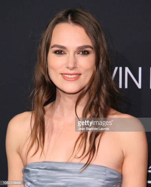 Keira Knightley attends the 25th Annual ELLE Women in Hollywood Celebration at Four Seasons Hotel Los Angeles at Beverly Hills on October 15 2018 in...