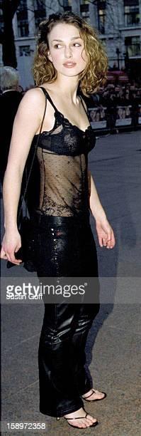 Keira Knightley Attends The 'Bridget Jones'S Diary' Premiere In London