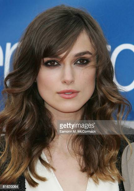 Keira Knightley attends The Edge Of Love Gala Opening of Edinburgh International Film Festival at Cineworld on June 18 2008 in Edinburgh Scotland