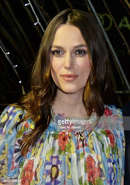 Keira Knightley attends the EE British Academy Awards nominees party at Kensington Palace on February 7 2015 in London England
