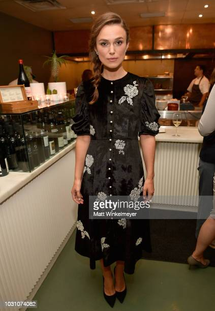 Keira Knightley attends The Hollywood Reporter and Hudson's Bay celebration of Colette and What They Had with Bleecker Street and Elevation Pictures...