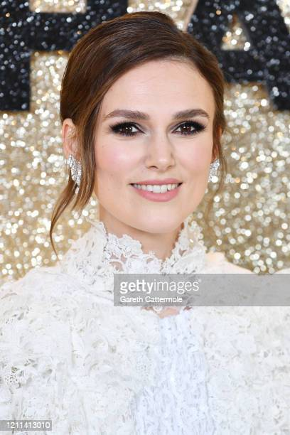 Keira Knightley attends the Misbehaviour World Premiere at The Ham Yard Hotel on March 09 2020 in London England