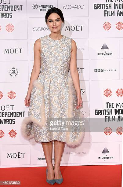 Keira Knightley attends the Moet British Independent Film Awards at Old Billingsgate Market on December 7 2014 in London England