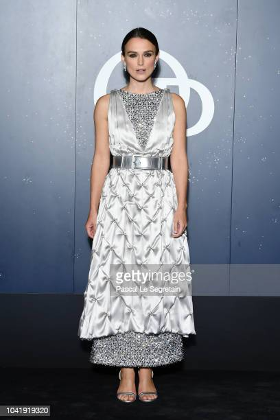 Keira Knightley attends the Opening Season Paris Opera Ballet Gala as part of the Paris Fashion Week Womenswear Spring/Summer 2019 on September 27...