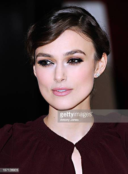 Keira Knightley Attends The Uk Gala Premiere Of 'A Dangerous Method' At The Mayfair Hotel In London