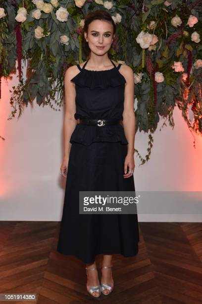 Keira Knightley attends the UK Premiere after party for Colette during the 62nd BFI London Film Festival on October 11 2018 in London England