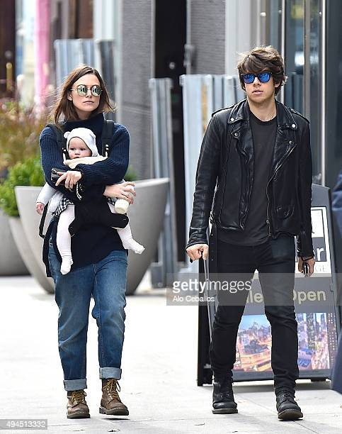 Keira Knightley James RightonEdie Righton are seen in Soho on October 27 2015 in New York City