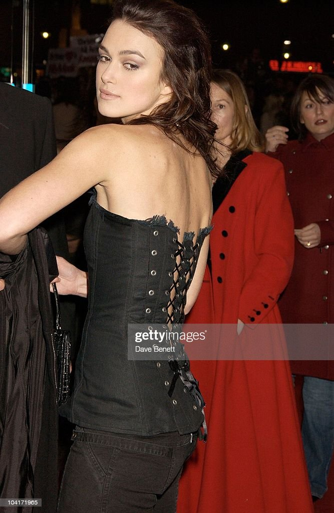 Keira Knightley, Love Actually Movie Premiere At The Odeon Leicester Square, London