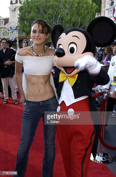 Keira Knightley Mickey Mouse