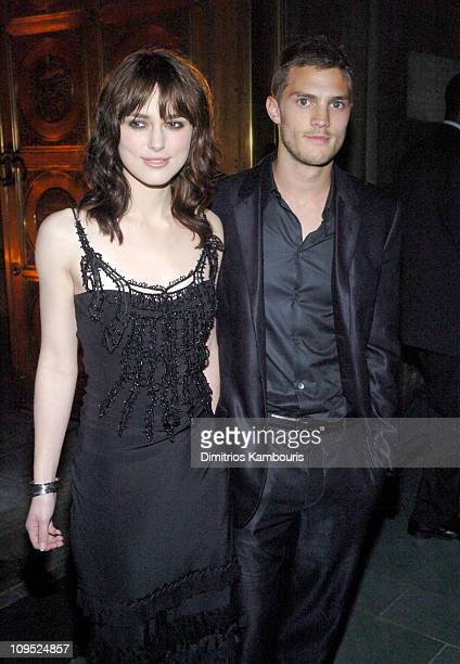 Keira Knightley with her Boyfriend Jamie Dornan during 'King Arthur' New York Premiere After Party at St Patrick's Cathedral in New York City New...