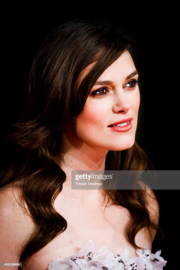 Keira Knightly attends the EE British Academy Film Awards at The Royal Opera House on February 8, 2015 in London, England.