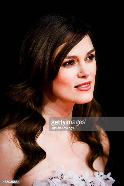 Keira Knightly attends the EE British Academy Film Awards at The Royal Opera House on February 8 2015 in London England