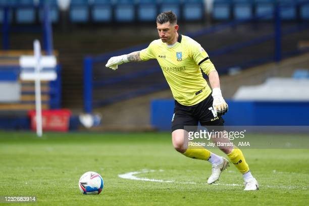 Keiren Westwood of Sheffield Wednesday during the Sky Bet Championship match between Sheffield Wednesday and Nottingham Forest at Hillsborough...