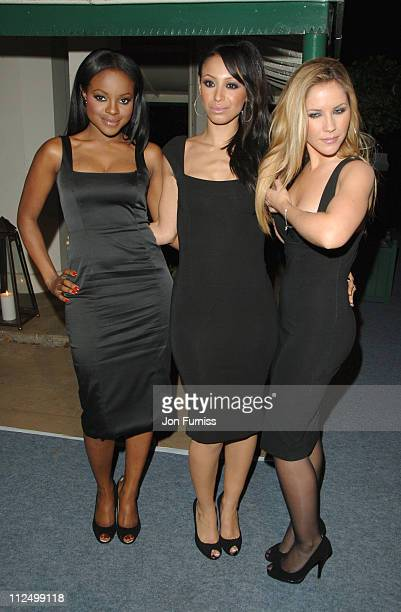 Keisha Buchanan Amelle Berrabah and Heidi Range of the Sugababes