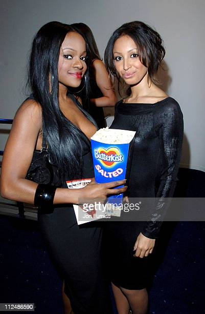 Keisha Buchanan and Amelle Berrabah of the Sugababes