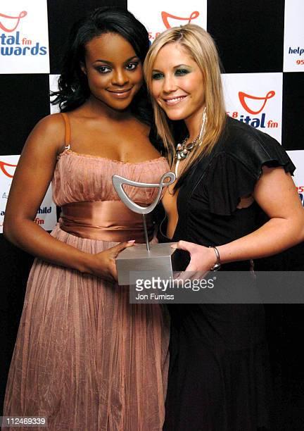 Keisha Buchanan and Heidi Range of the Sugababes winners of the 'Studio 7' Award
