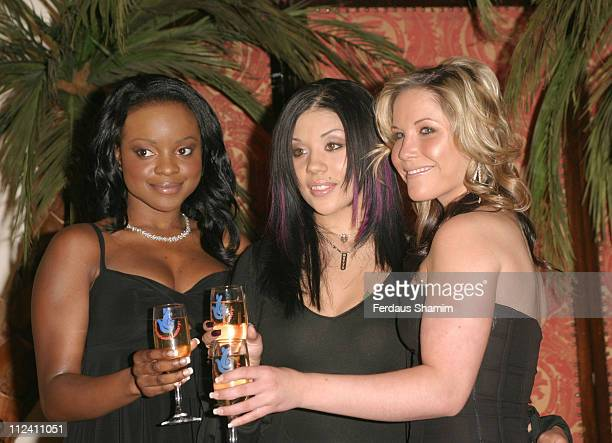 Keisha Buchanan Mutya Buena and Heidi Range of Sugababes