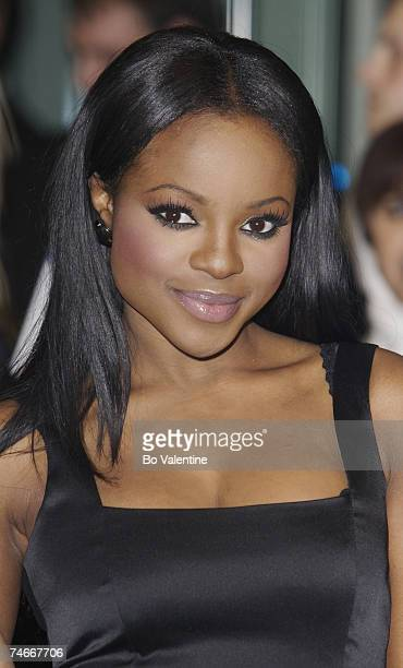 Keisha Buchanan of Sugababes at the 'Casino Royale' World Premiere Red Carpet at Odeon Leicester Square in London