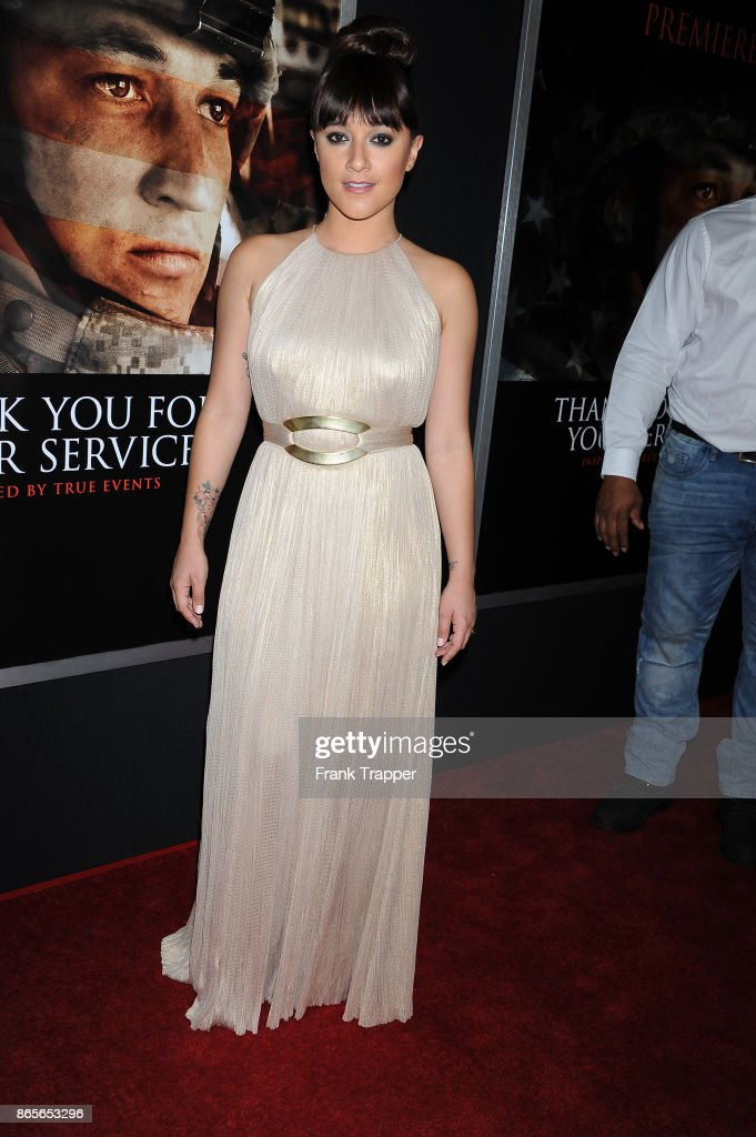 """Premiere Of DreamWorks Pictures And Universal Pictures' """"Thank You For Your Service"""" - Arrivals"""