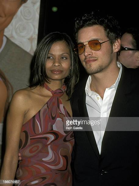 Keisha Chambers and Justin Chambers during 'The Wedding Planner' Los Angeles Premiere at Loews Century Plaza in Century City, California, United...