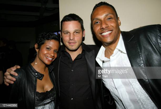 Keisha Chambers Justin Chambers and guest *EXCLUSIVE*