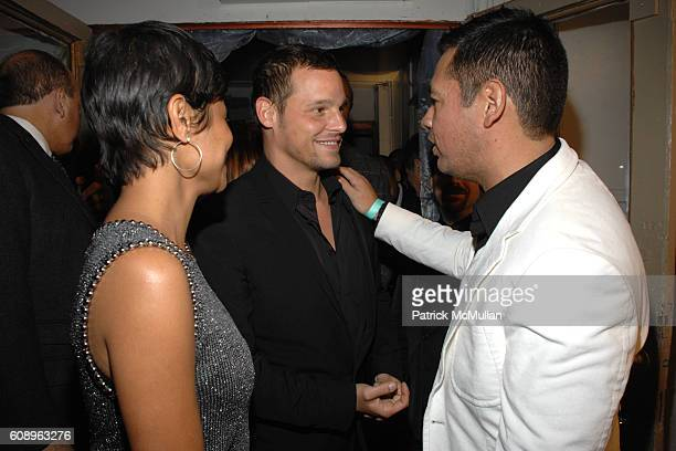 Keisha Chambers, Justin Chambers and Sean Patterson attend WILHELMINA MODELS 40th Anniversary at The Angel Orensanz Foundation on November 29, 2007...