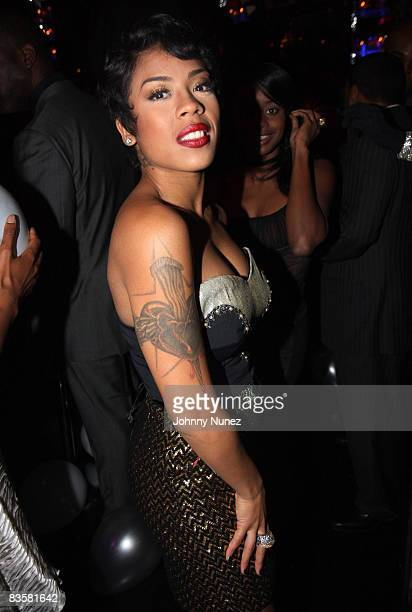 NEW YORK NOVEMBER 05 Keisha Cole attends Sean Diddy Combs' birthday party at Mansion on November 5 2008 in New York City