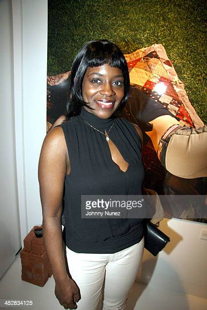 Keisha Combs during ENYCE 10th Anniversary Gallery Viewing at Boylan Studio's in New York New York United States