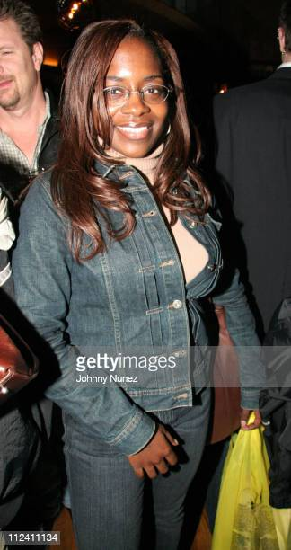 Keisha Combs during Notorious BIG Duets Album Listening Session October 20 2005 at Butter in New York New York United States