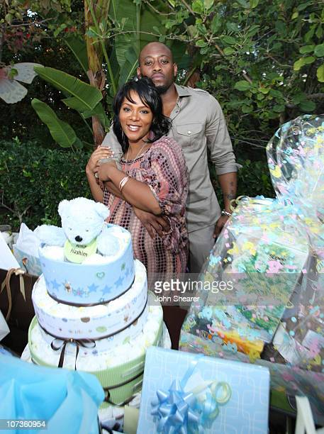Keisha Epps and Omar Epps host their baby shower at a private residence on November 3, 2007 in Chatsworth, California.
