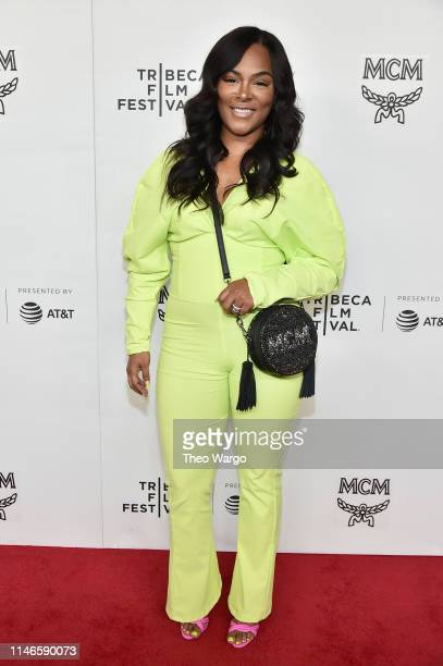 Keisha Epps attends the premiere of The Remix Hip Hop x Fashion at Tribeca Film Festival at Spring Studios on May 02 2019 in New York City