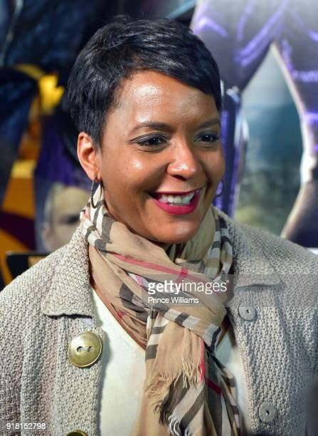 Keisha Lance Bottoms attends 'Black Panther' Advance Screening at Regal Hollywood on February 13 2018 in Chamblee Georgia