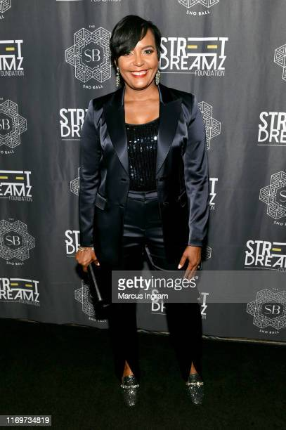 Keisha Lance Bottoms attends Jeezy's Inaugural SnoBall for his NonProfit Street Dreamz Foundation at Waldorf Astoria Atlanta Buckhead on August 22...