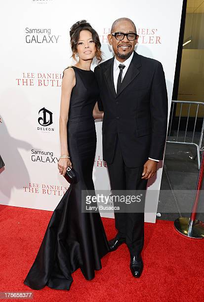 Keisha Nash Whitaker and Forest Whitaker attend Lee Daniels' 'The Butler' New York Premiere hosted by TWC Samsung Galaxy and DeLeon Tequila on August...