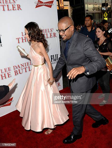 Keisha Whitaker and Forest Whitaker arrive at the premiere of The Weinstein Company's 'Lee Daniels' The Butler' at Regal Cinemas LA Live on August 12...