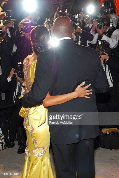 Keisha Whitaker and Forest Whitaker attend VANITY FAIR Oscar Party at Morton's on February 25, 2007 in Los Angeles, CA.
