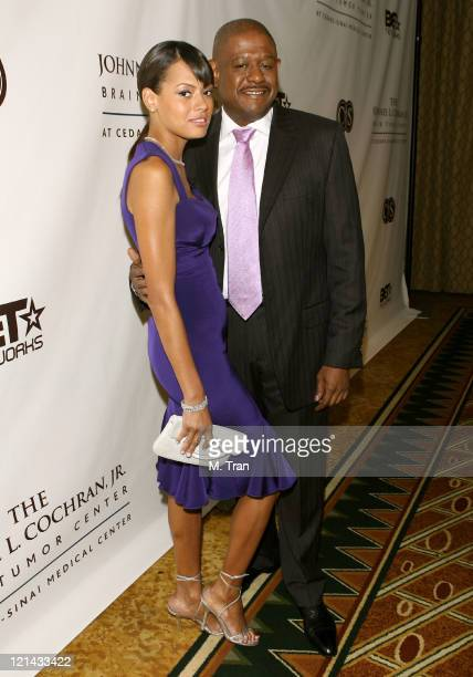 Keisha Whitaker and Forest Whitaker during Johnnie L. Cochran, Jr. Brain Tumor Center Opening Gala - Red Carpet at The Beverly Wilshire Hotel in...