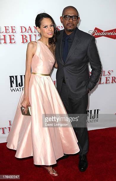 Keisha Whitaker and husband actor Forest Whitaker attend the premiere of the Weinstein Company's 'Lee Daniels' The Butler' at Regal Cinemas LA Live...