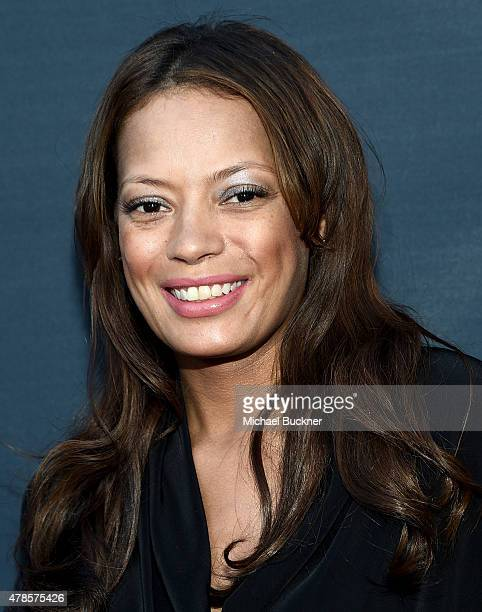 Keisha Whitaker arrives at the premiere of A24 Films 'Amy' at ArcLight Cinemas on June 25 2015 in Hollywood California