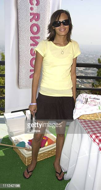Keisha Whitaker at C Ronson during Cabana PreMTV Movie Awards Beauty Buffet Day One at Private Residence in Hollywood California United States