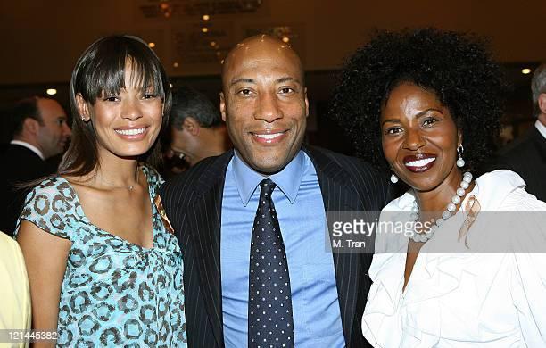 Keisha Whitaker, Byron Allen and Pauletta Washington