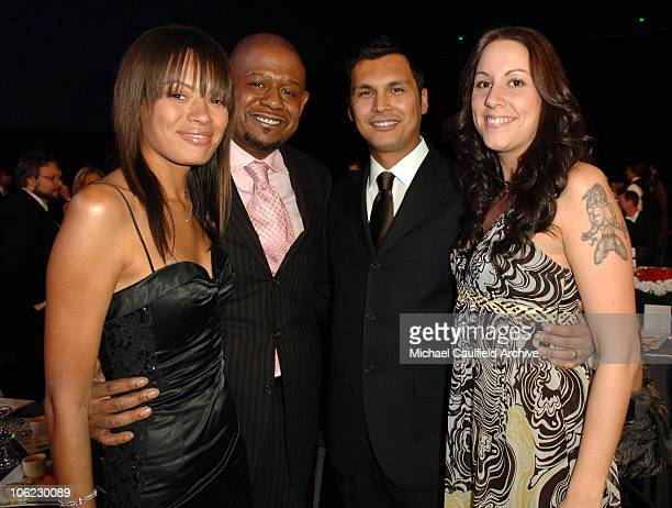 Keisha Whitaker Forest Whitaker Adam Beach and Tara Mason