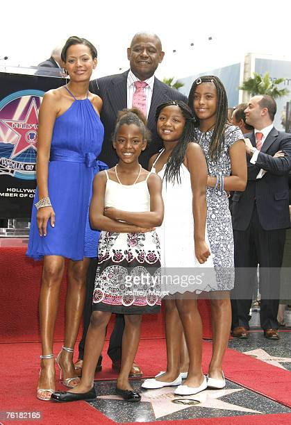 Keisha Whitaker Forest Whitaker and daughters