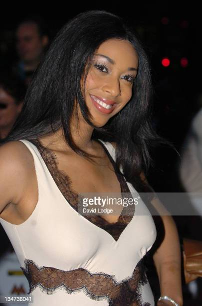 Keisha White during MOBO 2006 Awards Arrivals at The Royal Albert Hall in London Great Britain