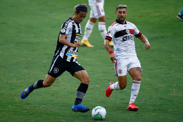 BRA: 2020 Brasileirao Series A:  Botafogo v Flamengo Play Behind Closed Doors Amidst the Coronavirus (COVID - 19) Pandemic