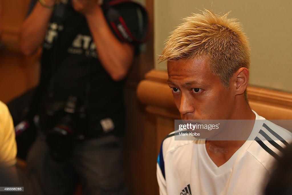 Japan Training & Press Conference : News Photo