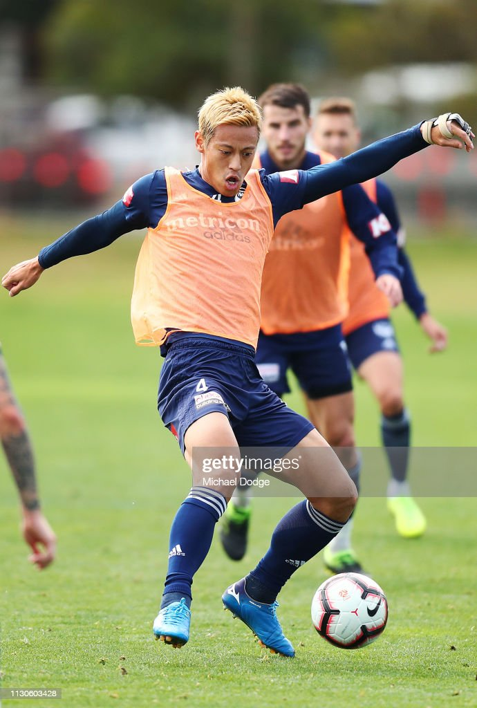 AUS: Melbourne Victory Training Session
