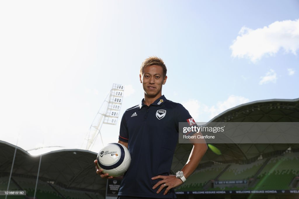 Keisuke Honda Melbourne Victory Media Opportunity : News Photo