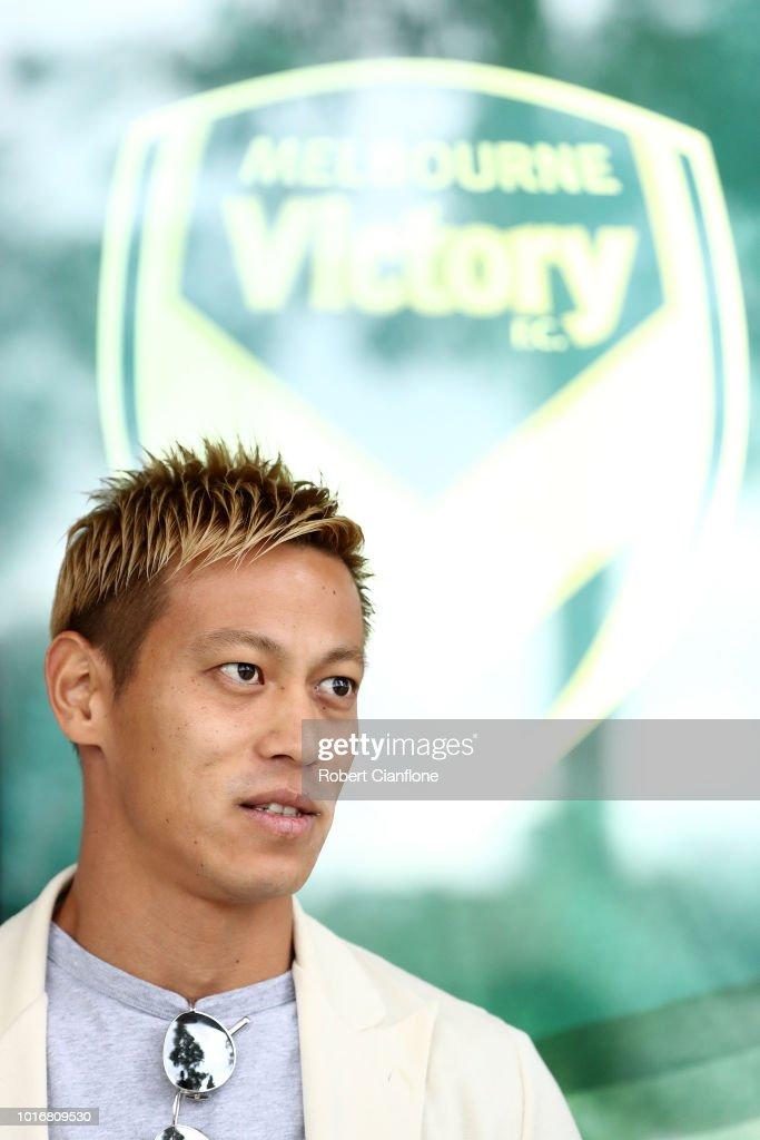 Keisuke Honda Melbourne Victory Media Opportunity